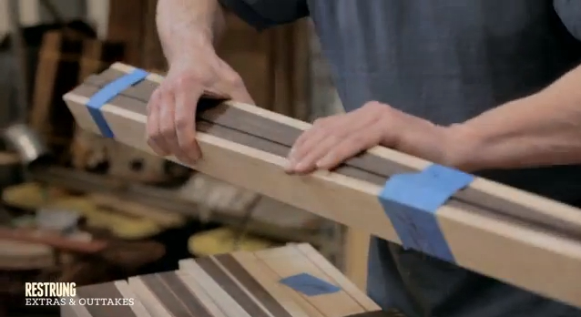 How to Build a Bass Guitar - Step # 4 - Necks at Different Stages